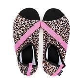FITKICKS, Feline Fierce Active Lifestyle Footwear, Leopard, S-XL