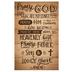 Salt & Light, Praise God Church Bulletins, 8 1/2 x 11 inches Flat, 100 Count