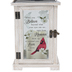 Carson Home Accents, When You Believe Cardinal Lantern, 6 1/4 x 13 1/2 inches