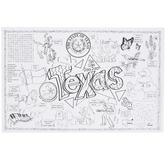 Gallopade, Texas Symbols and Facts FunSheet, Paper, Pack of 30, Grades PreK-4