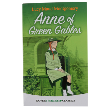 Anne of Green Gables, by Lucy Maud Montgomery, Paperback, Grades 5-8