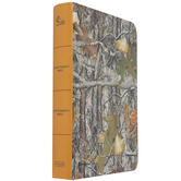 CSB Sportsman's Bible, Large Print, Personal Size, Imitation Leather, Mothwing Camouflage