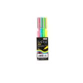 Marvy, LePen Neon Fine Point Pens, 1 Each of 4 Colors