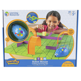 Learning Resources, Code and Go® Robot Mouse Activity Set, Multi-Colored, Ages 4 Years and Older, 83 Pieces