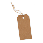 Gift Tags, 12 Hole-Punched Tags