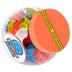 Fat Brain Toys, Mini Squigz, Red, Blue, and Yellow, 75 Pieces