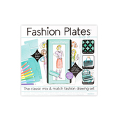 Kahootz, Fashion Plates Design Set, 50 Pieces, Ages 6 Years and Up