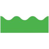 Renewing Minds, Scalloped Border Trim, 38 Feet, Light Green