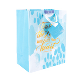 DaySpring, Trust in the Lord Gift Bag with Tissue, Medium, 7 3/4 x 9 9/16 x 4 5/16 inches