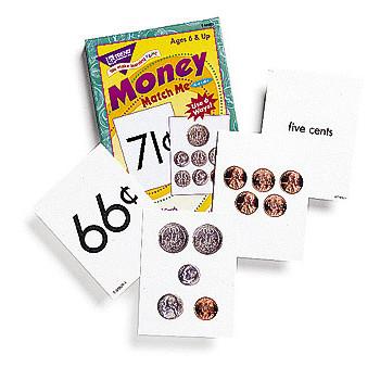 Money Match Me Cards