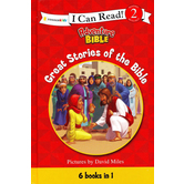 I Can Read! Level 2, Adveture Bible, Great Stories of the Bible, by David Miles, Hardcover