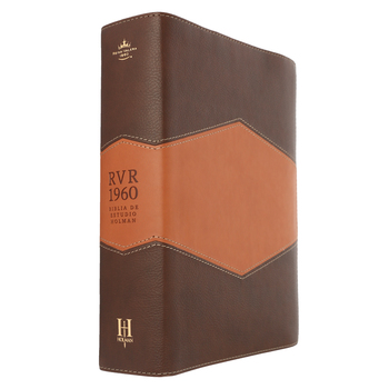 RVR 1960 Holman Spanish Study Bible, Duo-Tone, Chocolate and Tan