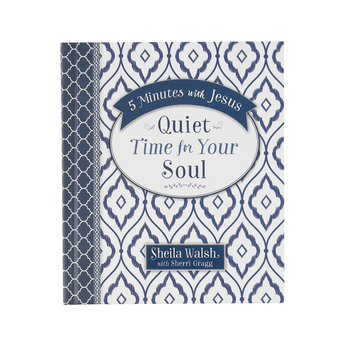 5 Minutes With Jesus: Quiet Time for Your Soul, by Sheila Walsh and Sherri Gragg