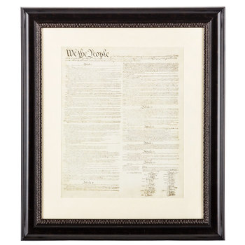 U.S. Constitution Framed Wall Art, 24 x 21 1/2 inches