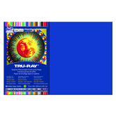 Tru-Ray® Sulphite Construction Paper, 12 x 18 inches, Royal Blue, 50 Sheets