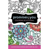 Faithgirlz Promises For You Coloring Devotional, by Zonderkidz, Hardcover