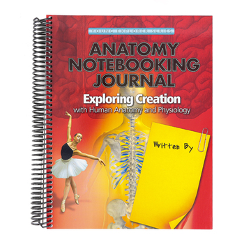 Apologia, Exploring Creation with Anatomy and Physiology Regular Notebooking Journal, Spiral, Grades 3-6