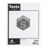 BJU Press, Science 5 Tests, 4th Edition, Grade 5