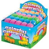 Stretchy Colorful Caterpillar - Assorted