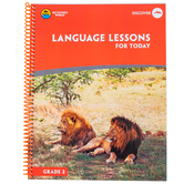 My Father's World, Language Lessons For Today, Spiral, 108 Pages, Grade 2