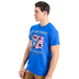 Red Letter 9, Matthew 5:9, Peacemakers Air Force Short Sleeved T-Shirt, Royal Blue