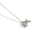 Collectables America, God's Girl Charm Necklace, Rhodium and Crystals, 16 inches