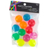 Brother Sister Design Studio, Neon Bouncy Balls, 15/16 Inch Diameter, Package of 12