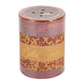 Darsee & David's, Bella Candella, Jasmine Pillar Candle, Golden Brown, 3 x 4 inches