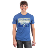 Kerusso, 1 Corinthians 16:13, Stand Firm Short Sleeved T-Shirt, Heather Navy, M-3XL