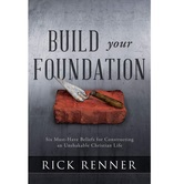 Build Your Foundation, by Rick Renner, Paperback