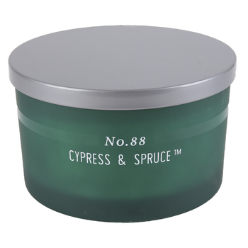No. 88 Cypress & Spruce Jar Candle, Green, 15 ounces, 5 1/4 x 3 1/8 inches