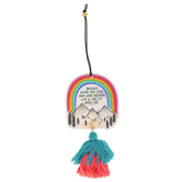 Natural Life, Life Is Pretty Amazing Air Freshener, Lemon Scent, Pressed Paper, 3 1/2 Inches