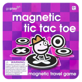 Toysmith, Magnetic Tic Tac Toe Travel Game, 5 1/2 inches