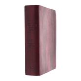 ESV New Inductive Study Bible, Imitation Leather, Burgundy