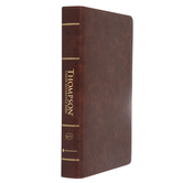 KJV Thompson Chain-Reference Bible, Large Print, Imitation Leather, Brown