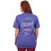Cherished Girl, Phillipians 4:13 I Can Do All Things, Short Sleeve T-Shirt, Purple Heather, Small