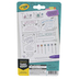 Crayola, Take Note Washable Gel Pens, 1 Each of 6 Colors