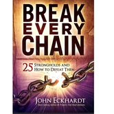 Break Every Chain: 25 Strongholds and How to Defeat Them, by John Eckhardt, Paperback
