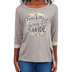 Southern Grace, Fearfully and Wonderfully Made, Kid's 3/4 Sleeve T-shirt, Tan, Ages 2-3