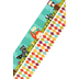 Woodland Tails Collection, Wide Double-Sided Border Trim, 38 Feet, Blue with Critters and Argyle