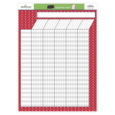 Isabella Collection, Customizable Incentive Chart, 17 x 22 Inches, 1 Each