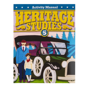 BJU Press, Heritage Studies 5 Student Activity Manual, 4th Ed., Grade 5