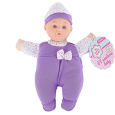 Toysmith, My Sweet Baby, Li'l Newborn Baby Doll, 7 1/2 inches