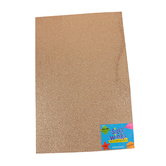 Silly Winks, Glitter Foam Sheet, 12 x 18 Inches, 1 Each, Bronze