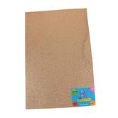 Silly Winks, Glitter Foam Sheet, 12 x 18 Inches, 1 Each, Bronze