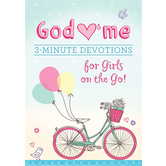 God Hearts Me: 3-Minute Devotions for Girls on the Go!, by MariLee Parrish, Paperback
