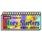 McDonald Publishing, Story Starters Write-Abouts, Spiral, Grades 1-3