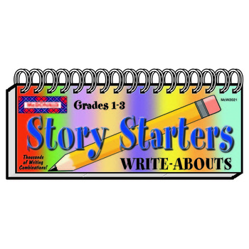 McDonald Publishing, Story Starters Write-Abouts, Spiral, Grades 1-3