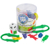 Learning Resources, Take 10! Color Bug Catchers Matching Set, Multi-Colored, Ages 3-5