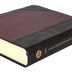 ESV Single Column Journaling Bible, Imitation Leather, Brown & Crodovan